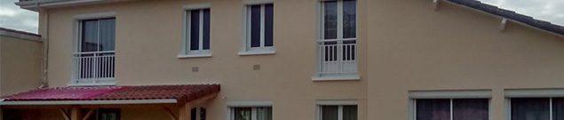 Ravalement de façades par la société Murzeau à Buxerolles